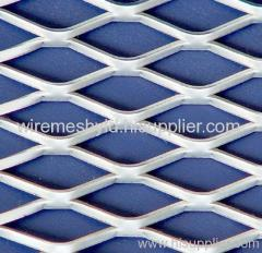standard heavy duty aluminum expanded metal meshes