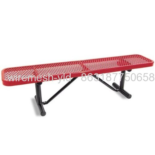 Pvc Coated Expanded Meatl Bench