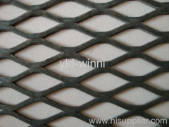 flattened expanded metal wire mesh