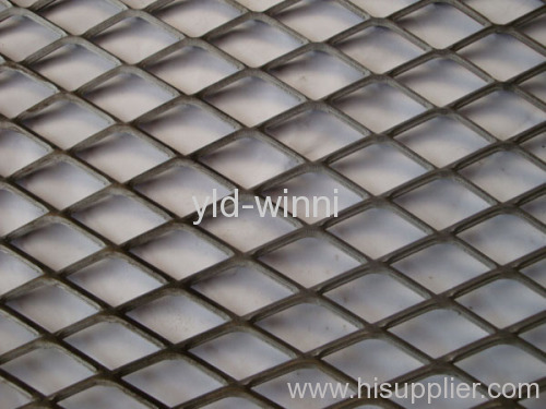 standard expanded metal wire mesh