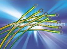 CB-HFT(YG) YELLOW/GREEN HEAT-SHRINKABLE TUBING