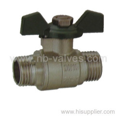 Brass Ball Valve Aluminium Handle