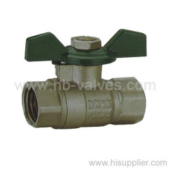 MM Brass Ball Valve Aluminium Handle