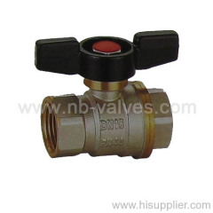 MM Fixed Brass Ball Valve