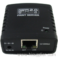 Networking USB 2.0 LPR Print Server
