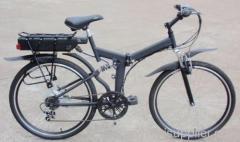 26 inch folding e bike