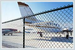 Diamond Air Ports Fence