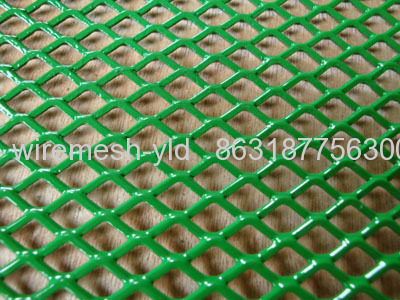 Green Powder Coating Expanded Metal