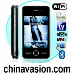 Quad band Dual SIM Wifi Touchscreen Worldphone