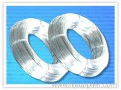 Hot-galvanized wire