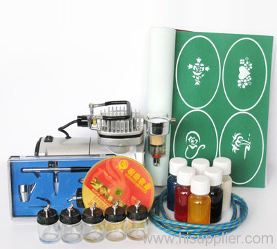 Airbrush Tattoo Starter Kit