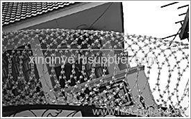 razor barbed wire meshes
