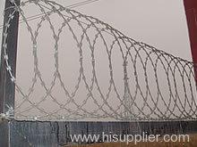 Concertina Single Razor Wire