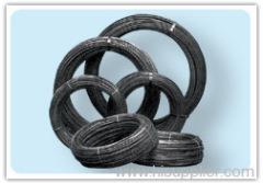 Black oil iron wire