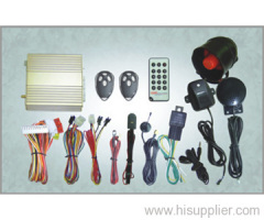 GSM/GPRS Car Security System