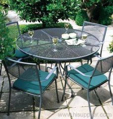 PVC coated expanded metal outdoor furnitures