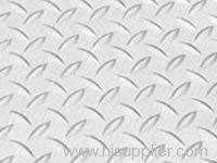 Aluminum Embossed Perforated sheet metal