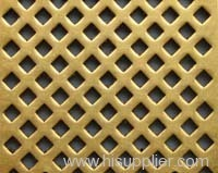Brass Perforated Metal