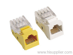 RJ45 Cat5E TOOLLESS Module