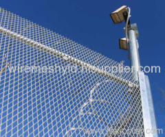 galvanized expanded metal mesh fences