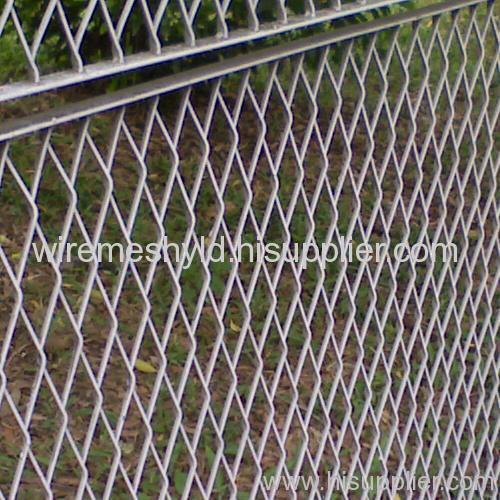 galvanized expanded metal mesh barriers