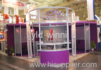 expanded metal for exhibition stands
