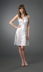 Formal Evening Dress White 2010