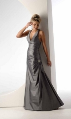 Long Formal Evening Dress 2010 Black