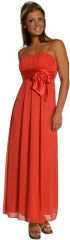 Red cheap prom dress
