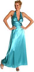 cheap prom dress blue 2010