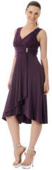 Eggplant Prom Dress