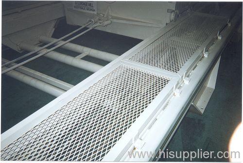 expanded metal mesh walkway