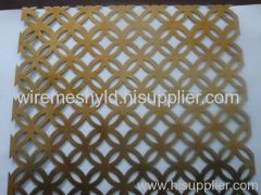 decorative perforated panels