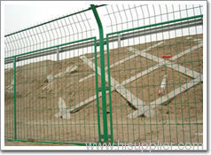 expanded metal Framed Fences