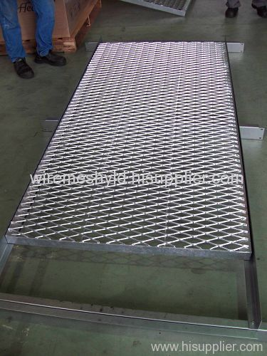 expanded metal walkway panels