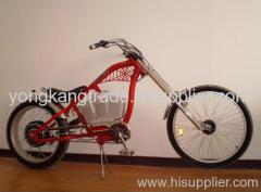 electric chopper bike