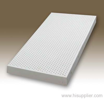 Plain latex mattress