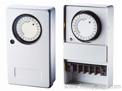 24 Hours Mechanical Wall-Mounted Timer
