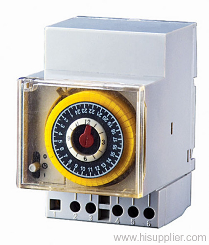 Din Rail Mechanical Timer
