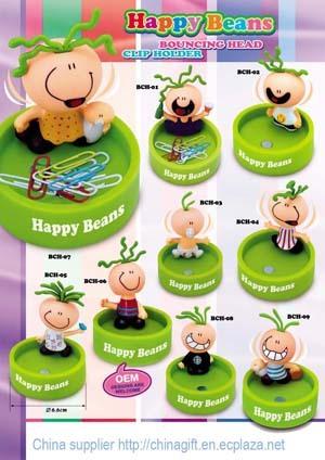 Happy beans clip holder