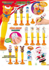 Christmas eye pop out pen