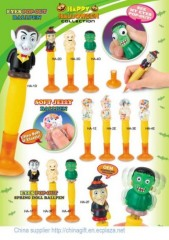 Hallowmas eye pop out pen