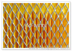 expanded metal mesh for filter cylinders