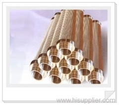 metal pleated filter elements