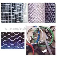 Galvanized Hexagonal Iron Wire Mesh