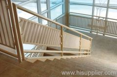 stainless steel perforated metal stairwell panels