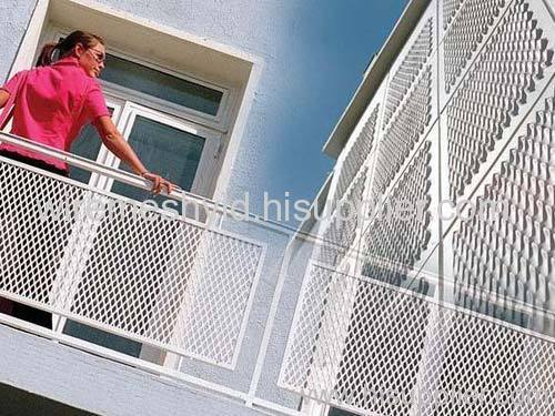 balcony protection expanded metal meshes