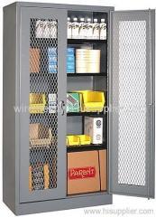 expanded metal mesh cabinet doors