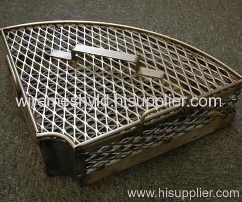 flattened 304 stainless steel expanded metal meshes