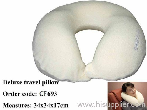 U-shape neck support memory foam pillow